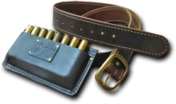 hunt fish trek hand made leather accessories